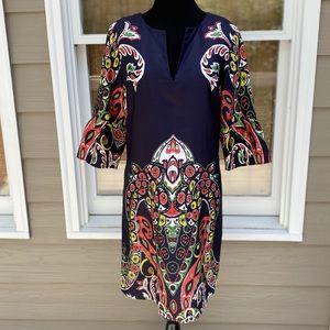 Ann Taylor Loft Mod Sixties Style Shift Dress